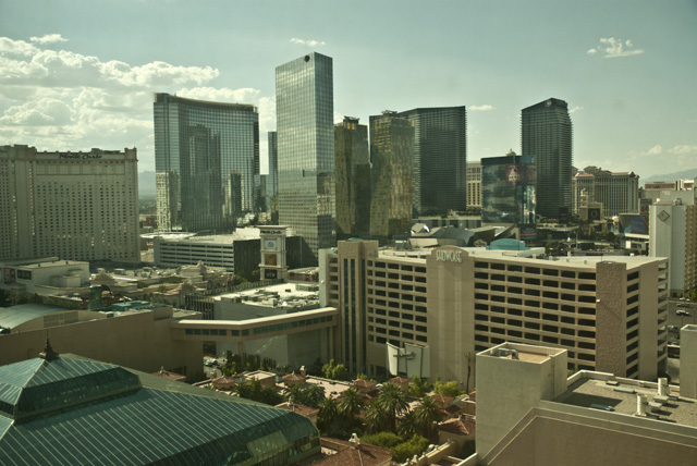 View from MGM Grand Kind Room