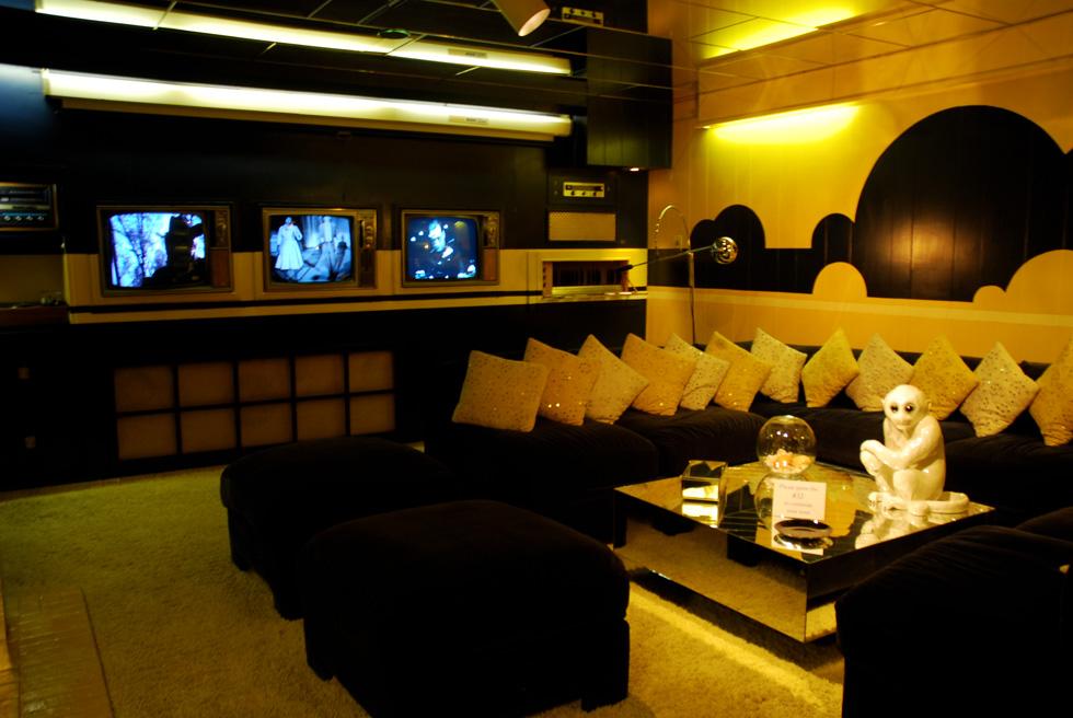 TV Room at Elvis's Graceland Mansion