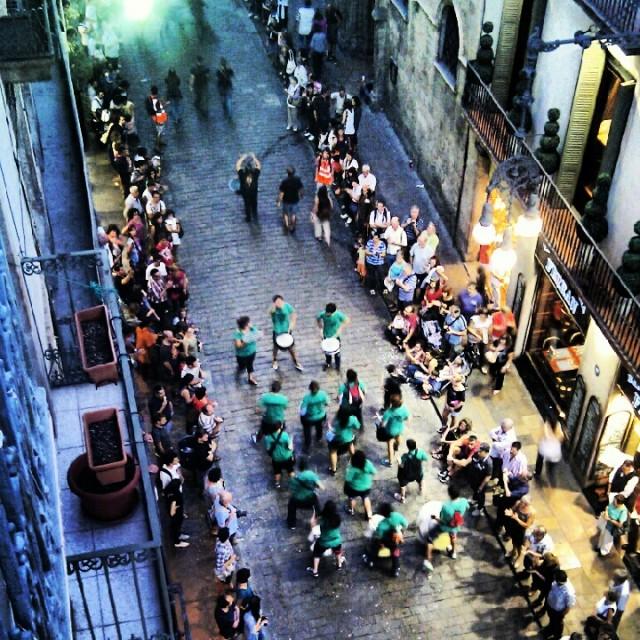 La Merce Parade Barcelona 2012