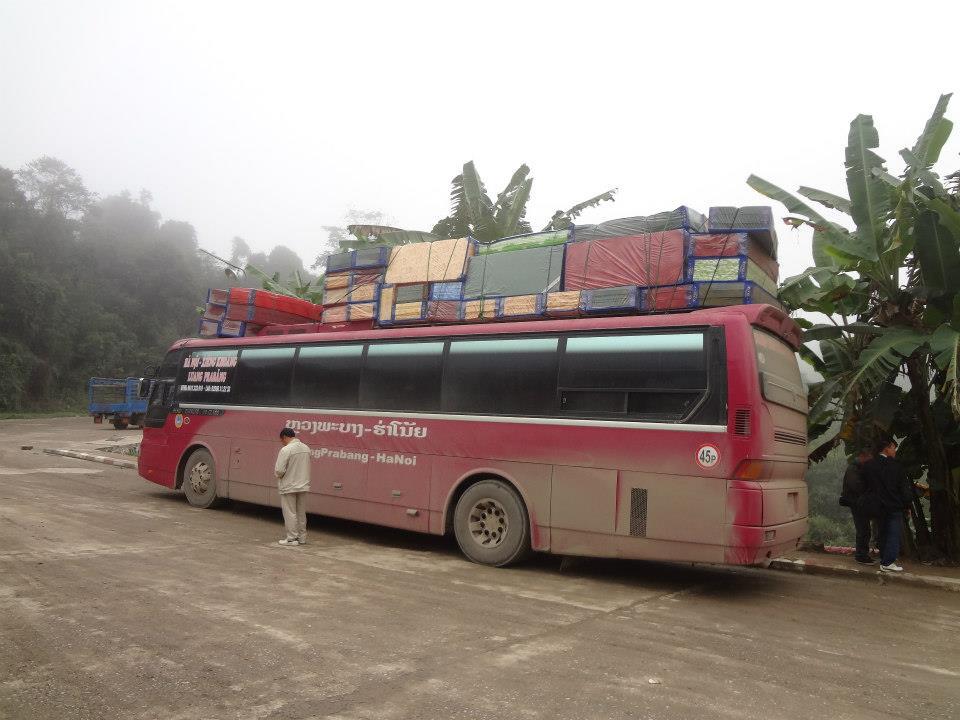 Bus Vietnam to Laos