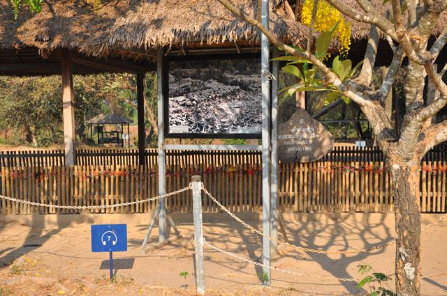 Killing Fields Mass Grave in Cambodia