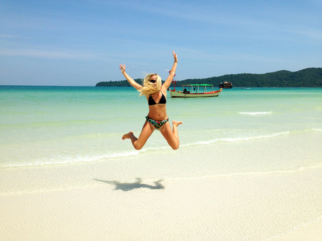 Koh Rong Samloem Beach Cambodia