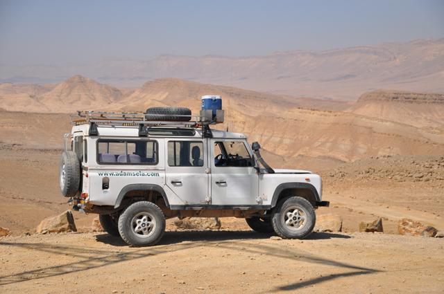 Adam Sela Jeep Tour Mitzpe Ramon
