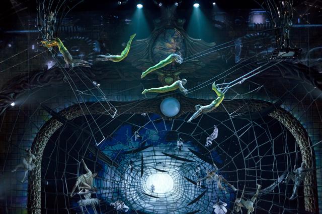 Zarkana Trapeze Cirque du Soleil Las Vegas