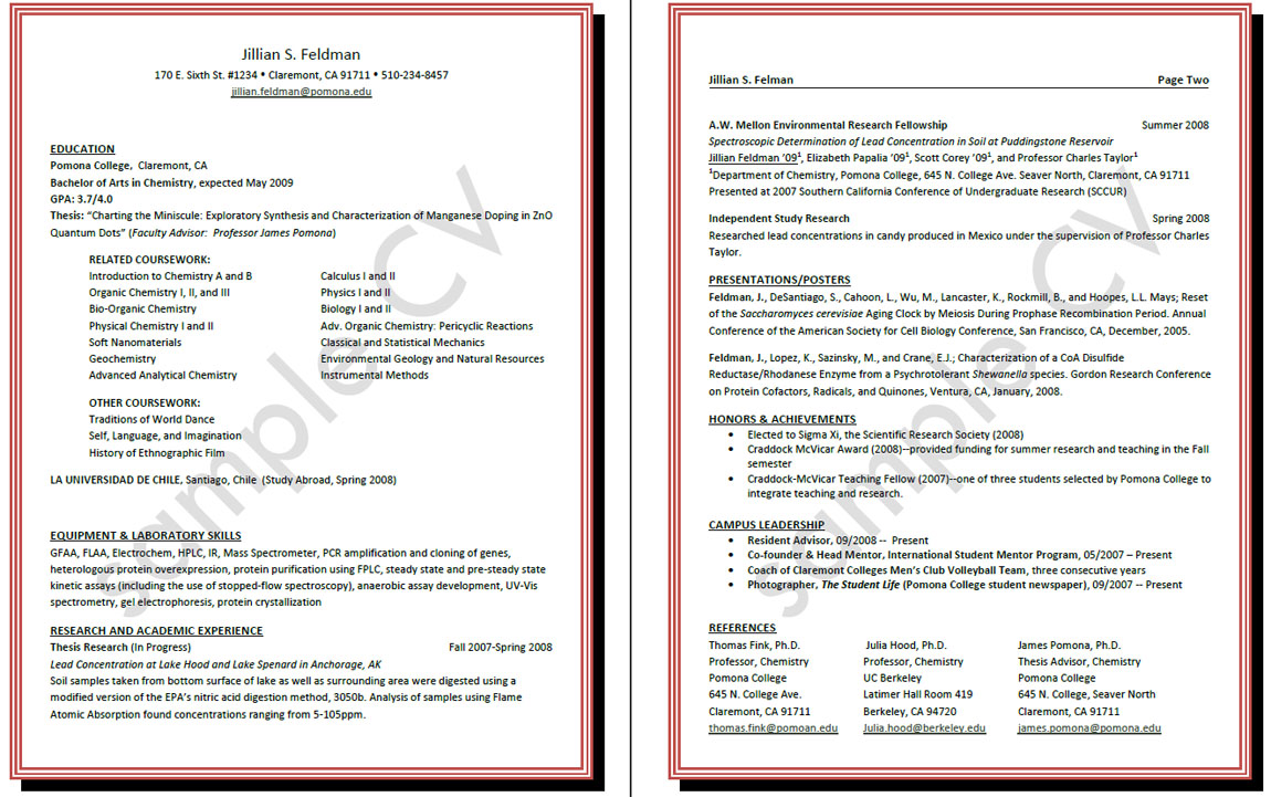 Academic Resume Builder Resume Builder Internship Cover Letter
