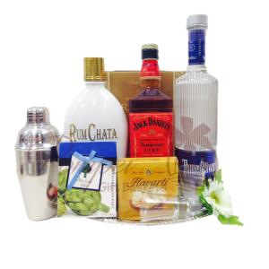 American Classic Liquor Gift Basket