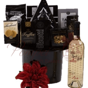 Perfect Night Out Wine Gift Basket