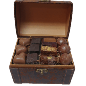 Sweet Mini Treasure Chocolate Gift Basket, chocolate gift basket, chocolate platter, chocolate box, free chocolate delivery, chocolate delivered, pompei gift baskets