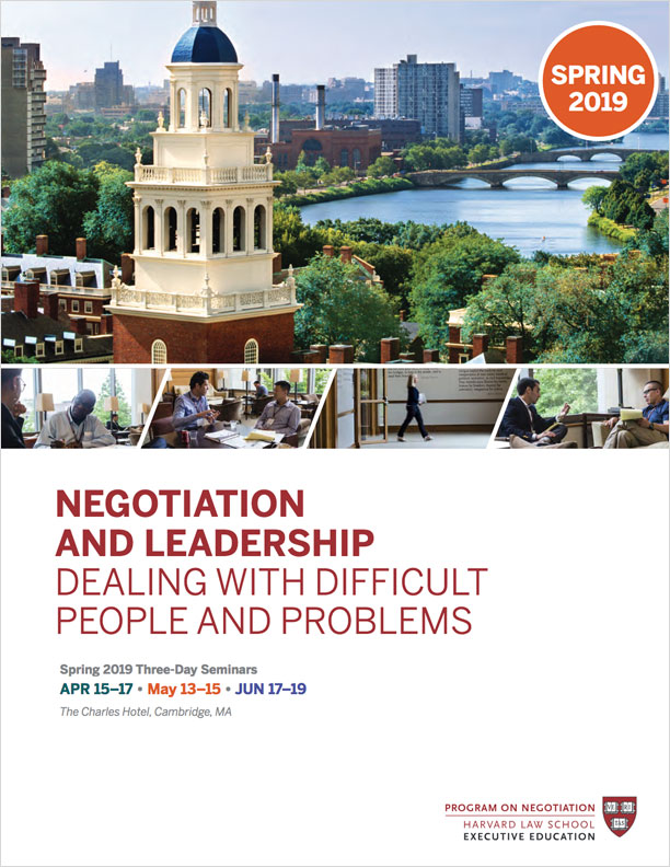 What is Anchoring in Negotiation? - PON - Program on Negotiation at