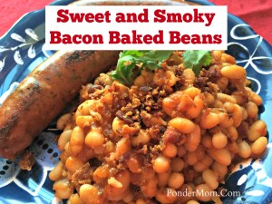 ... Meal #2: Smoky Chipotle Baked Beans with Bacon and Chicken Sausage