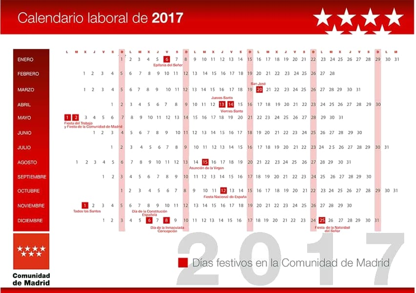 The 25+ best Calendario laboral de madrid ideas on Pinterest - combination resume examples