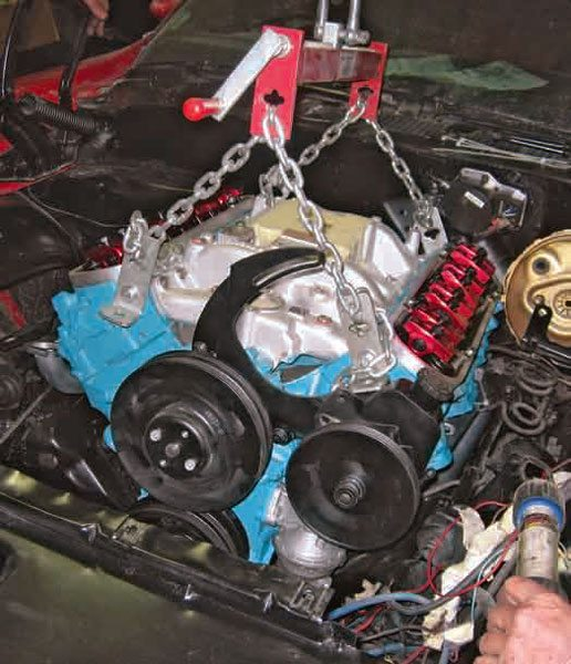 pontiac 350 engine diagram