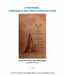 Livret du Pèlerinage à Pontmain pour le retour de Jésus-Christ Vrai Roi de France et de son LieuTenant