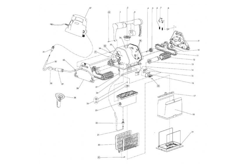 maytronics pool cleaner wiring diagram