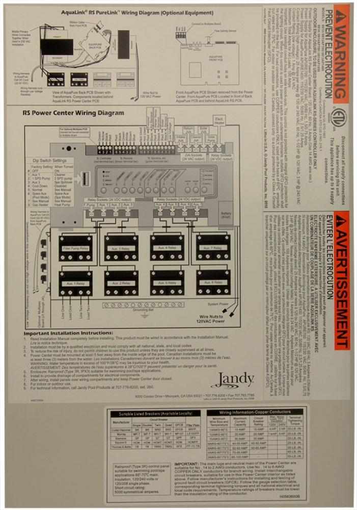 jandy panel wiring diagram