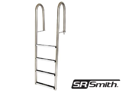 Sr Smith Dock 5 Step Ladder 304 Stainless Steel Lls 5