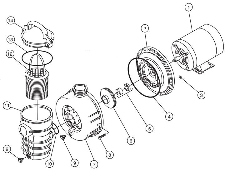 wiring diagram pentair pool pump 340210