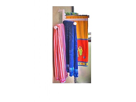 Saftron Wall Mounted Towel Rack 25quot Thickness 190quot Od