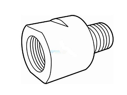 Paramount Clear O3 Adapter Pot Plug 005 402 1050 00