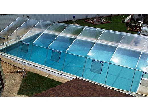 Fabrico Sun Dome All Vinyl Dome For Inground Pools 2439 X