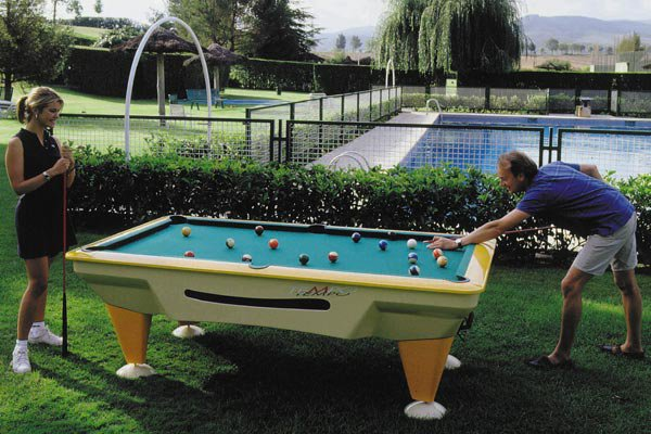Sam Outdoor Pool Table Tempo Usa 7ft Size Pool Tables
