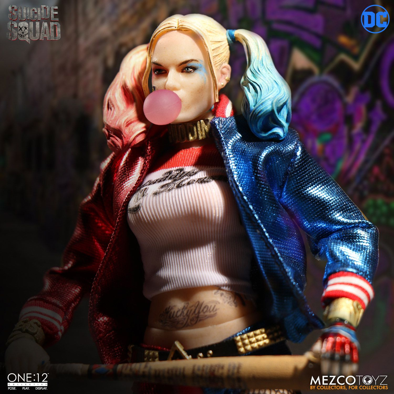 Never Trust On Girl Wallpaper Suicide Squad Harley Quinn One 12 Collective Action Figure
