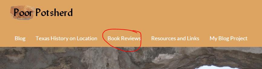 Book Review menu item