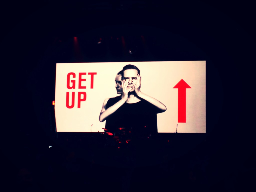 Escenario concierto Bryan Adams | Vistalegre, Madrid| Get up! Tour