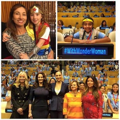 Miss the Wonder Woman/United Nations Celebration? See It Here!