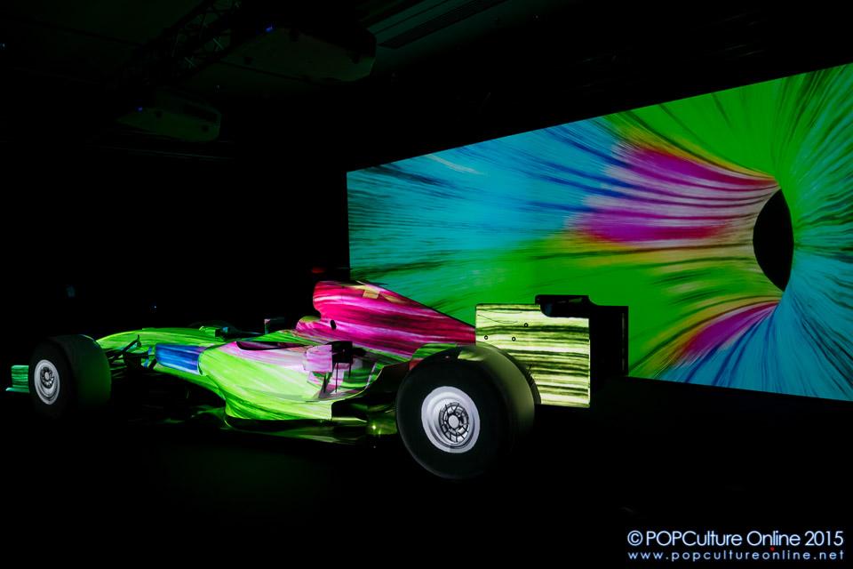 a bight colours splashing Neon Color Splash Backgrounds