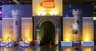 GameStart 2015 Bandai Namco Entertainment Asia Booth Entrance