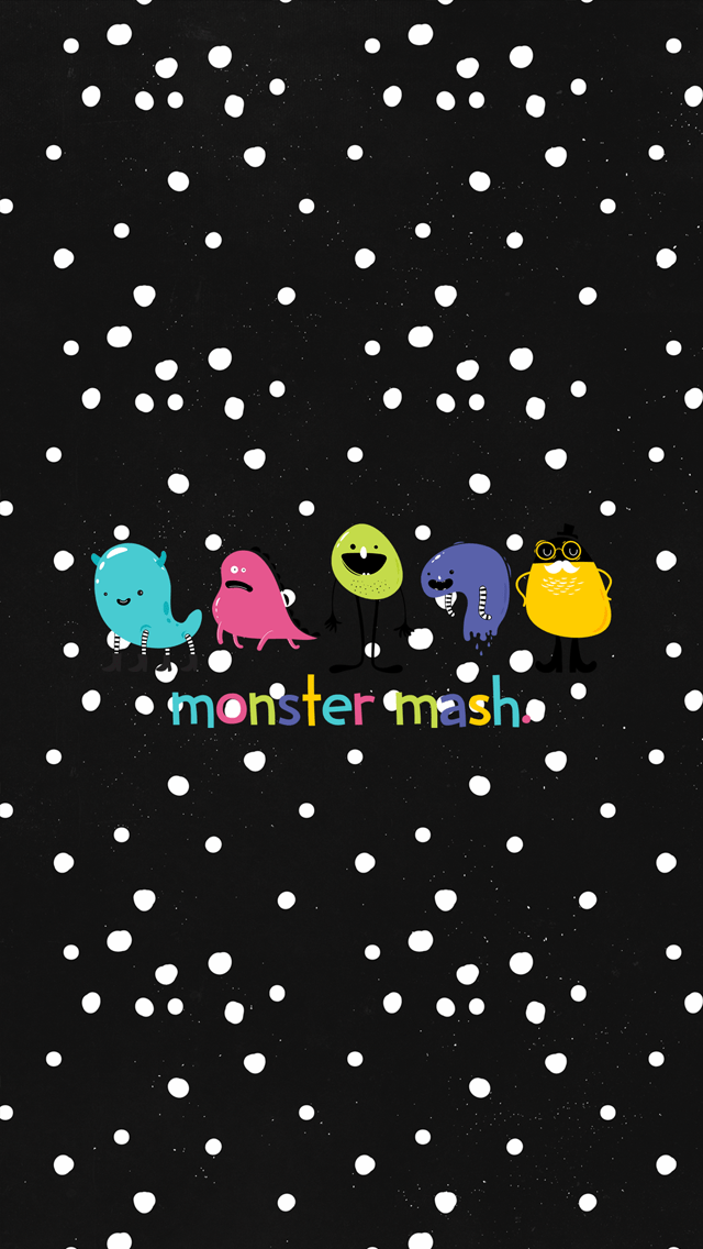 Seasonal Wallpaper For Iphone The Writing S On The Wall Monster Mash