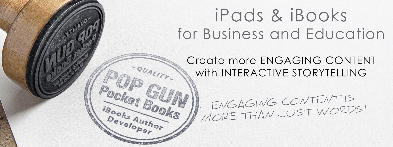iPads for Business and Education. iBooks Author