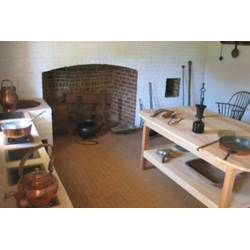 Manly Thomas Jefferson Thomas Poplar Forest Stoves Kitchen Figure Reconstructed Stew Stove At Monticello Masonry Stoves