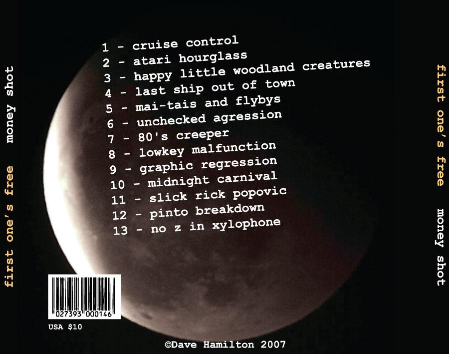 Popovic Design Print Portfolio - Moneyshot CD Album