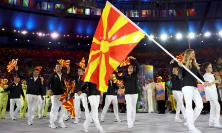 The Former Yugoslav Republic Of Macedonia Atheletes REUTERS