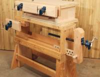 Plans to build Woodworking Bench Pipe Clamps PDF Plans