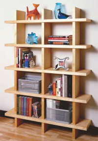 AW Extra - Contemporary Bookcase - Popular Woodworking ...