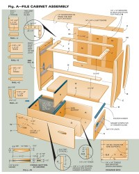 Woodworking Plans Filing Cabinet Plans PDF Plans