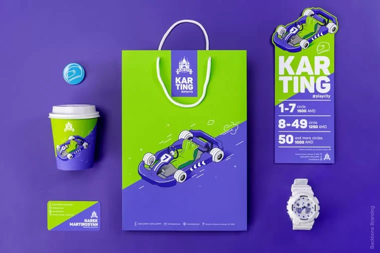 Bold colored packaging design ideas