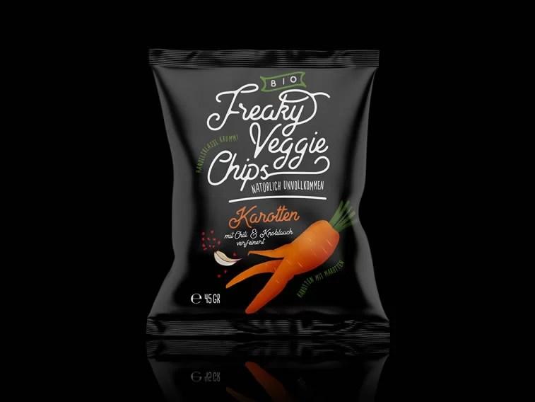 Interesting examples of snacks packaging design