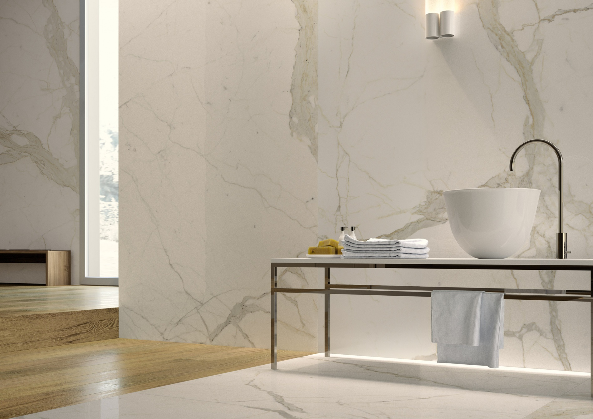 Introducing Stone Sense A New Marble Effect Porcelain