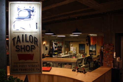 Inside The Levi's Tailor Shop [San Francisco]