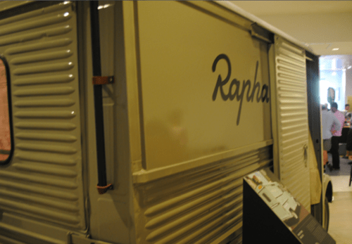 Inside Rapha Cycle Club NYC