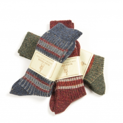 Winter Essential: Scott-Nichol Tweed Socks