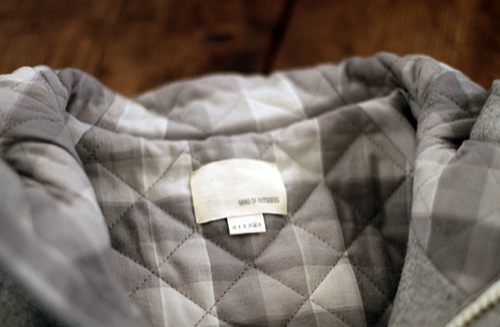 Fall 2010 | Band Of Outsiders Wool Mountain Parka