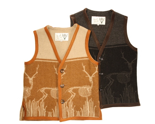 South2 West8 | Jacquard Leather Trim Vest
