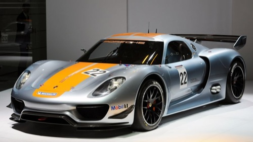 The 767hp Hybrid | Porsche 918 RSR Racing Lab Concept