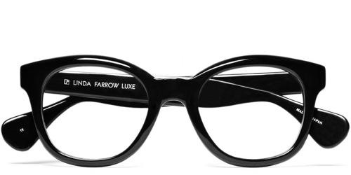 Linda Farrow Luxe Round Framed Eyeglasses