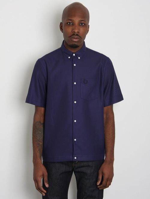 Fred Perry Laurel Waffle Shirt